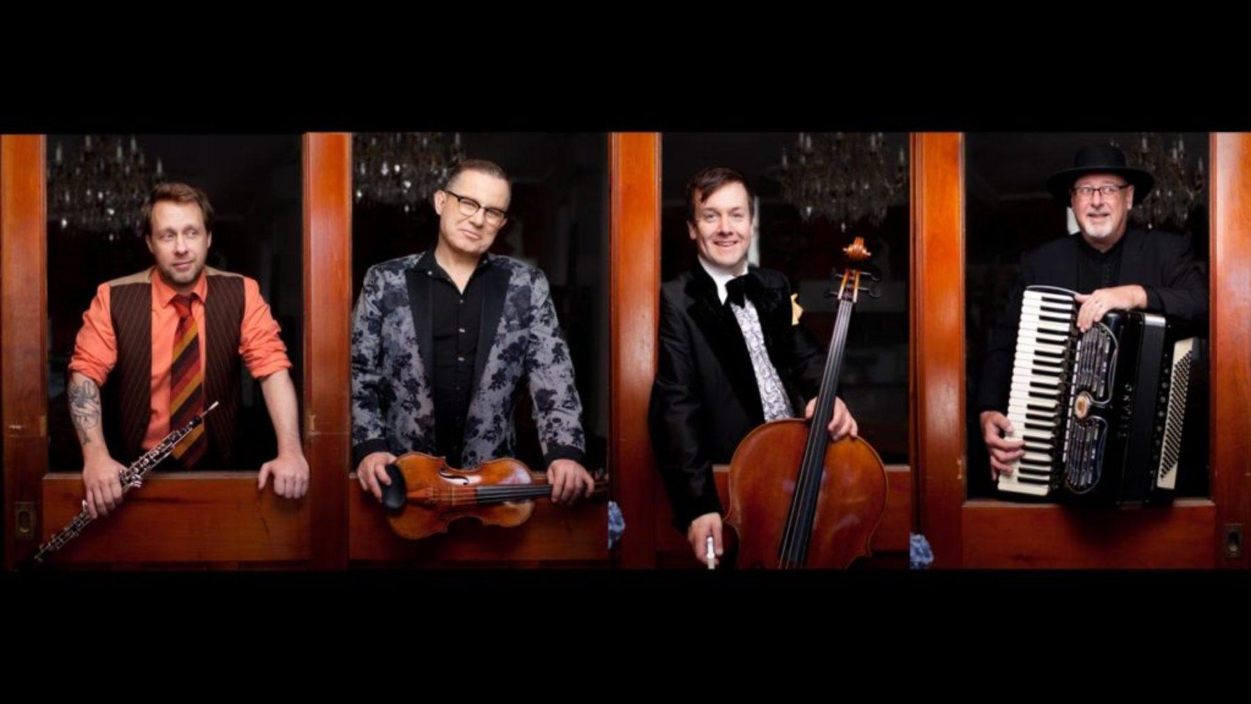 Quartetto Gelato  - Sat. Apr. 13, 2019, 8pm